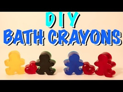 How To Make Bath Crayons (Quick and Easy!!!)