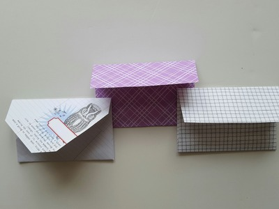 How to Make Custom Envelope Sizes Without an Envelope Tool