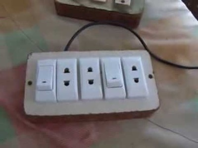 How to Make Electrical Extension Box (Urdu. Hindi)