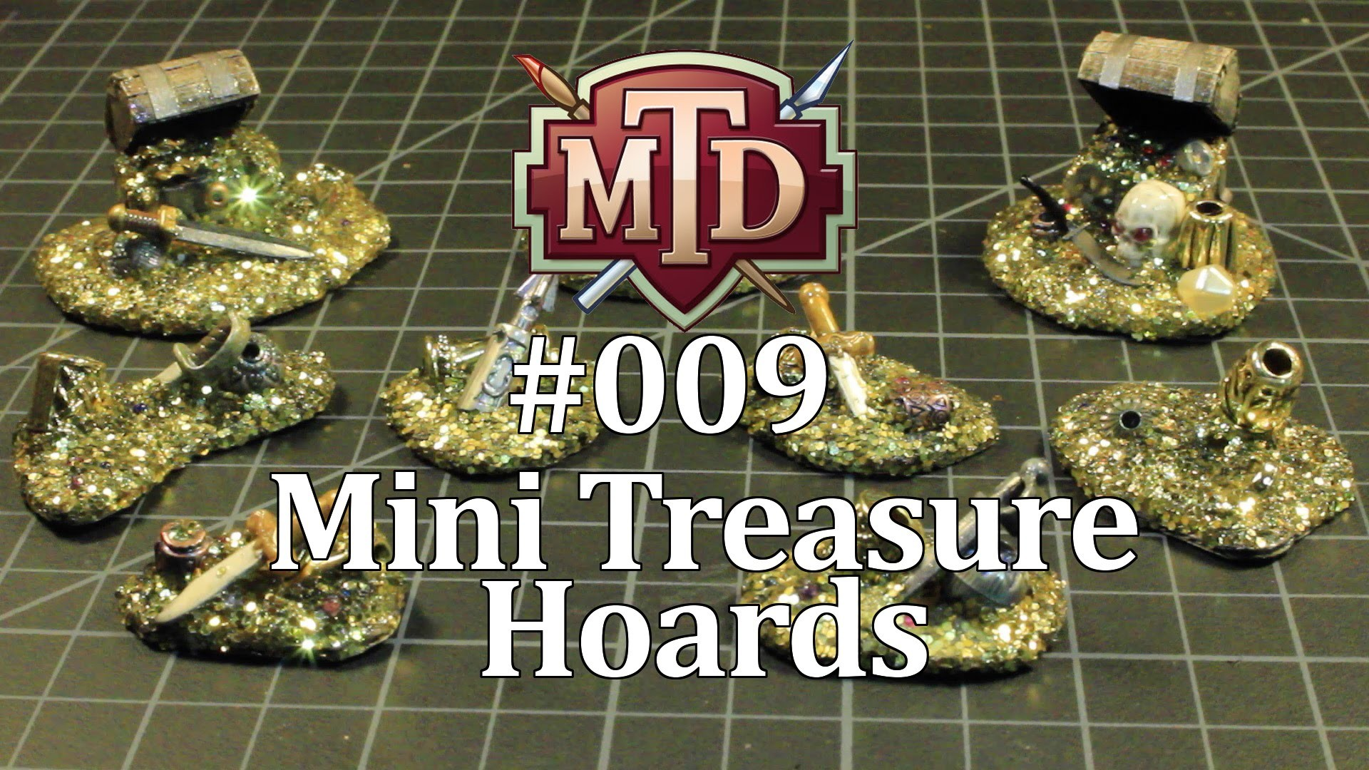 How to Make Miniature Treasure Hoards