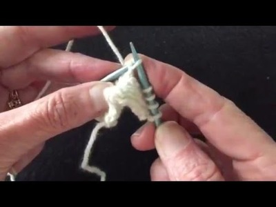 How to Pick up Dropped Sts without a Crochet Hook