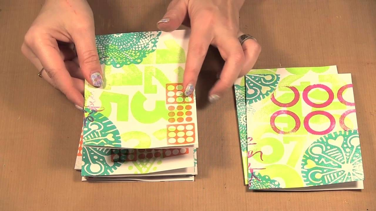 How to use Large Art Foamies to make Cards