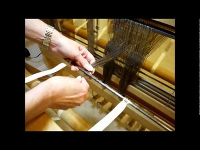 How to Weave on a Loom - Video 11 - Winding the Warp Part 1
