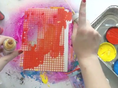 Journaling By 5s - Part 1 ~ Paint.Ink (Background)