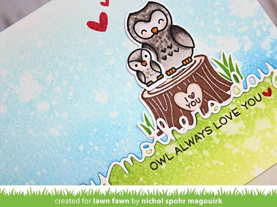 Lawn Fawn | Happy Mother's Day Border Die Inlay Card