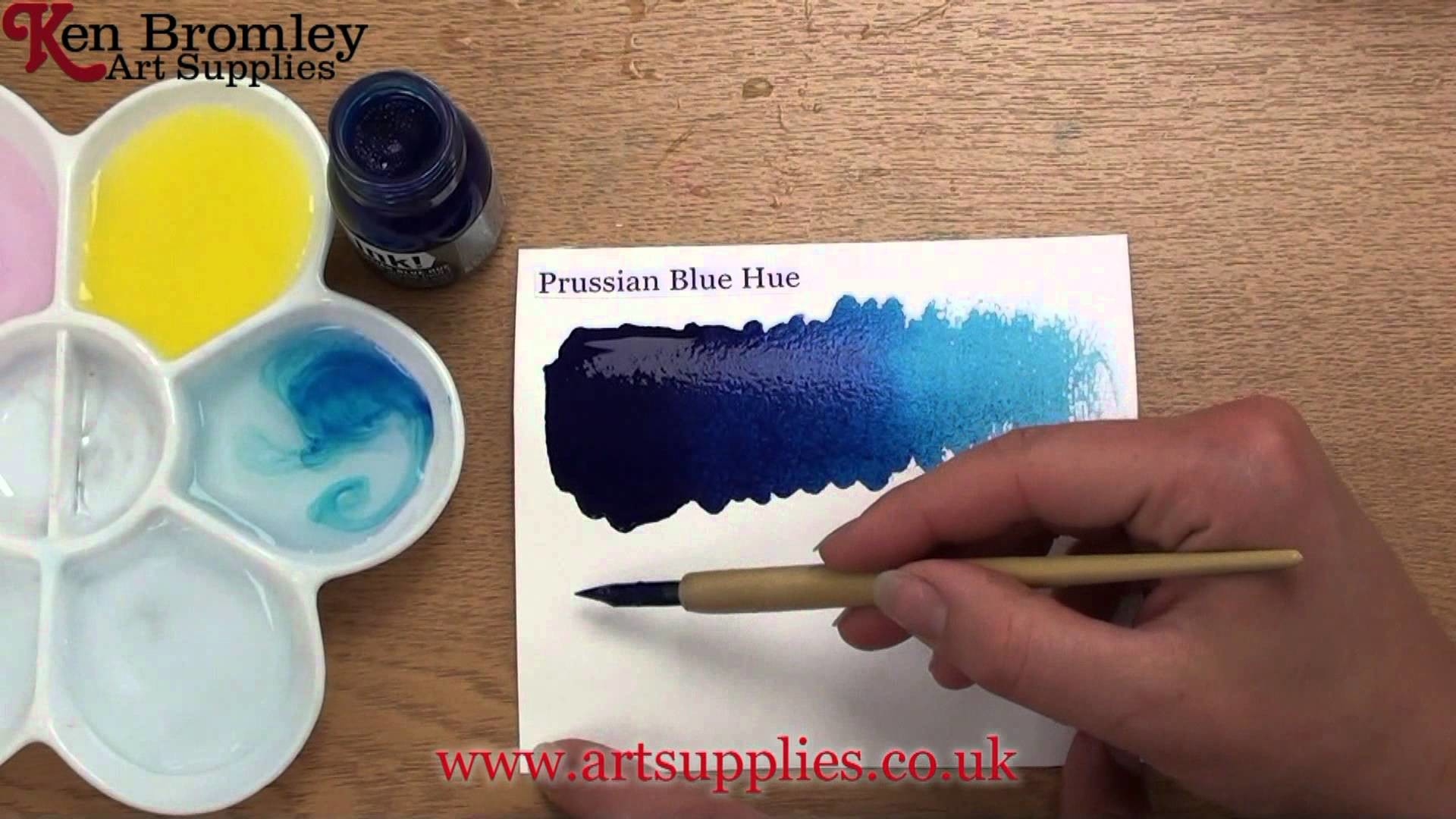 How To Make Prussian Blue Acrylic Paint