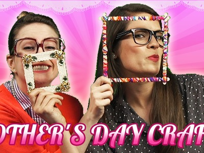 Mother's Day Picture Frame - Fan Mail Shout Outs! | Arts & Crafts with Crafty Carol and Ms. Booksy