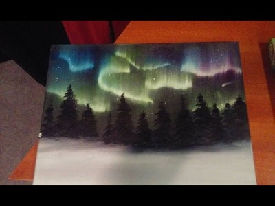 Painting The Northern Lights (The Salem Painter   Ep 03)