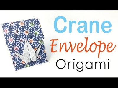 Paper Crane Envelope Instructions - DIY - Origami Kawaii