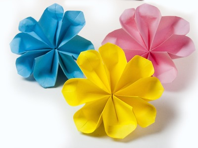 Paper flowers (traditional origami)
