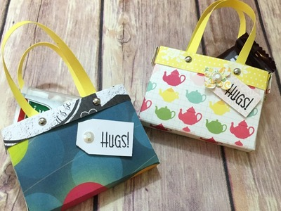 Paper Pinky Purses Favor Treat Bags Tutorial