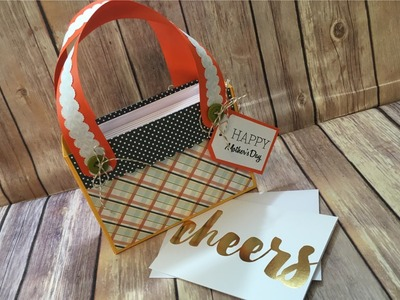 Paper Purse Perfect for Mother's Day 2016