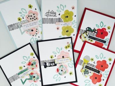 Simon Says Stamp_April Card Kit Birthday Flowers