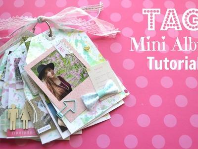 Tag Mini Album Tutorial - Little Hot Tamale