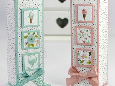 Tall Inchie Decorated Box using Stampin' Up! Supplies