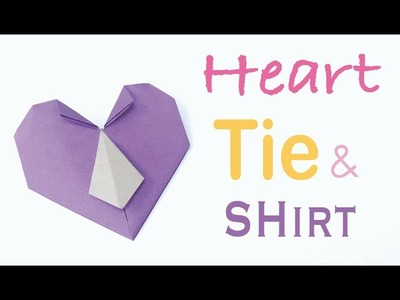 Tie Shirt Heart ❤ Father's Day - Origami Kawaii