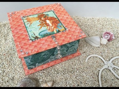 Trinket Box Tutorial - with Graphic 45 or any other papers in your collection!