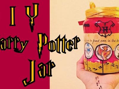 ⚯͛ ⚡ DIY Harry Potter Gryffindor Jar!!! ⚡ ⚯͛ | Gift idea |
