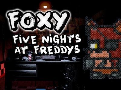 Foxy FNAF - Hama Bead Tutorial