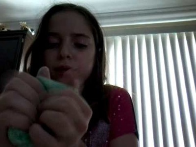How to make slime WITH flour and dish soap
