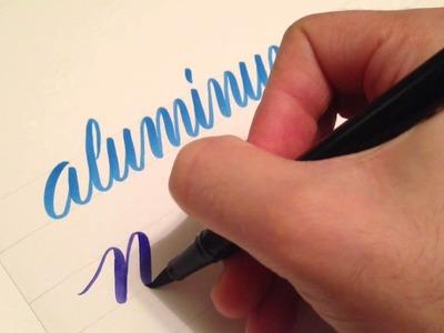 Lettering Basics: Brush Pens and Pen Pressure - 2.3