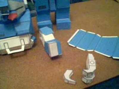 Papercraft Robot - fishtank36