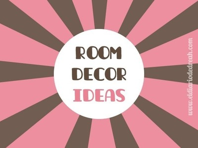 Room Decor DIY #1 Lienzo personalizado