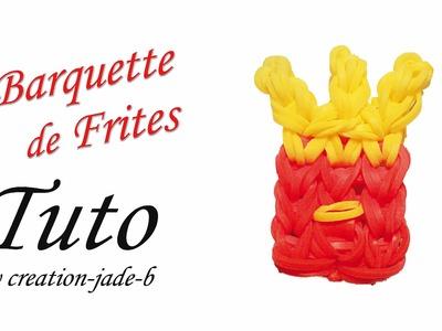 Tuto Rainbow Loom - Barquette de Frites  Mcdo !
