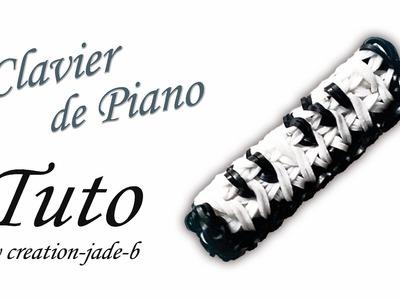 Tuto Rainbow Loom - Clavier de piano !