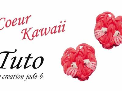 Tuto Rainbow Loom - Petit Coeur Kawaii !