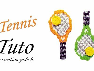 Tuto Rainbow Loom - Raquette de Tennis Roland-Garros ! ( Mural sans fond )