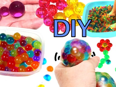 What to do with Orbeez or water beads: stress ball and spa