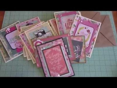 Craft Fair Idea #13:  Cute and Simple Cards! (plus tips!)
