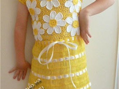 Crochet Baby dress| Free |Crochet Patterns| 548