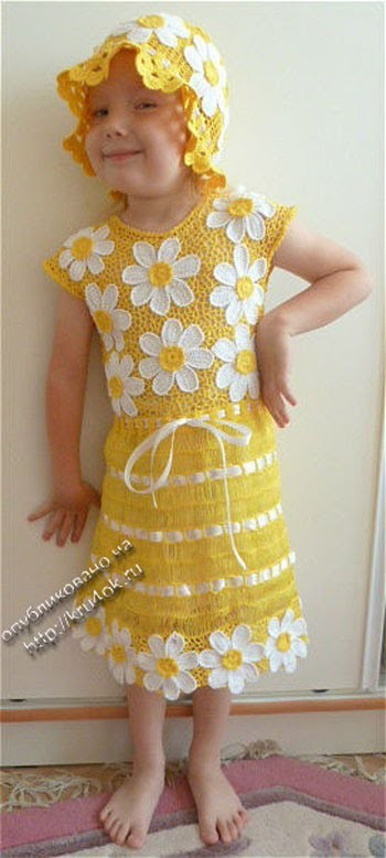 Crochet Baby dress| Free |Crochet Patterns| 548