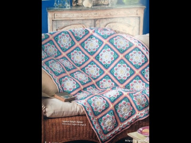 Crochet Patterns| for free |Crochet Baby Blanket| 579