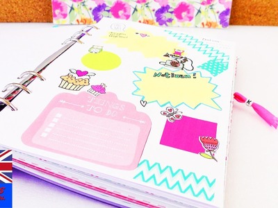 Design your own note pages! | Note Book DIY | Dates and Events