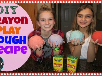 DIY CRAYON PLAY DOUGH RECIPE