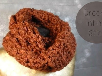 DIY: Crochet Chunky Infinity Scarf Super Fast and Easy to Make
