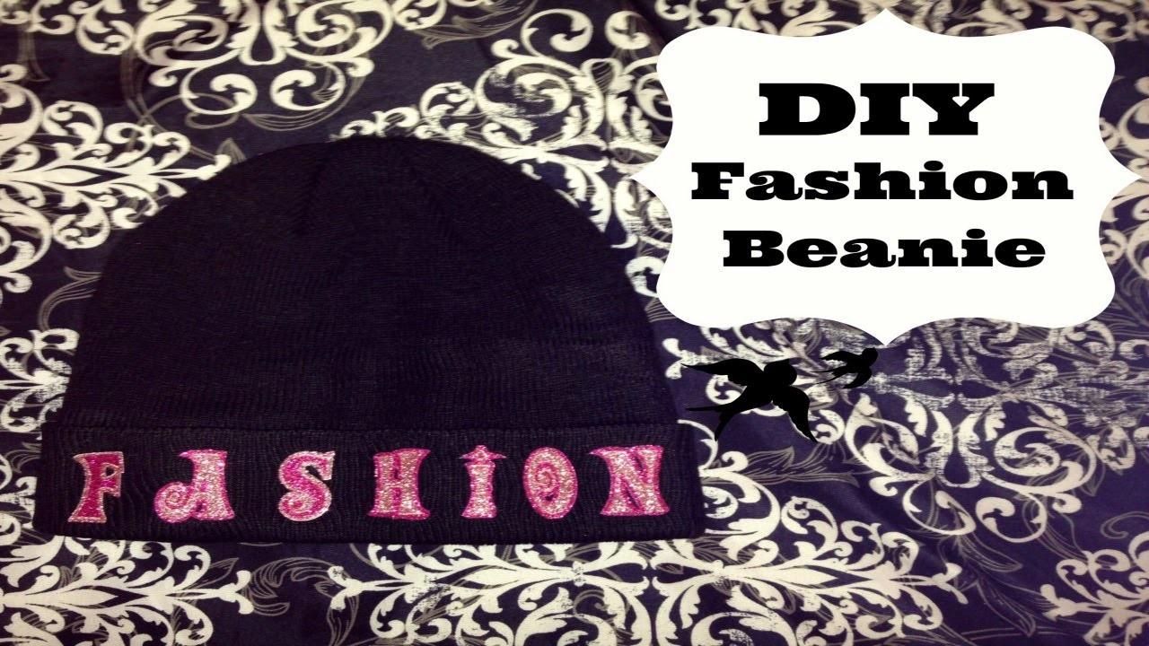 DIY Fashion Statement Beanie