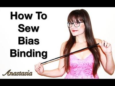 DIY How To Sew Bias Binding On A Dress