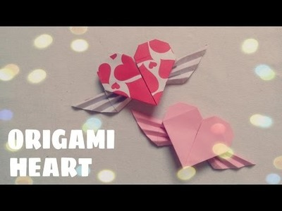 DIY - Origami Heart with Wings
