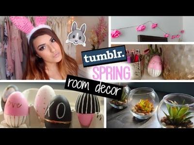 DIY Spring Room Decor Ideas ♡ | Tumblr Inspired Under 10$