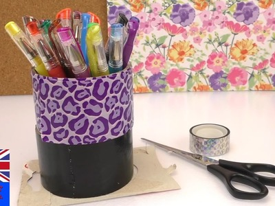 Duct tape Pen box? Duct tape, washi tape, pens, creative | How to Tutorial