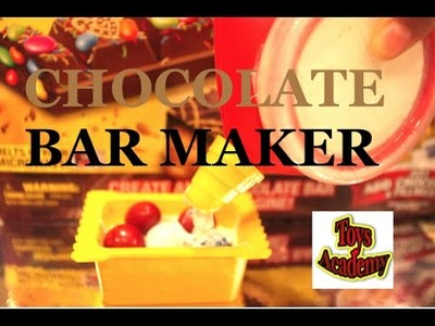 Easy Chef Maker Chocolate Bar DIY Food Craft | Toys Academy
