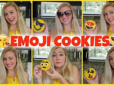 EMOJI COOKIES!!! DIY
