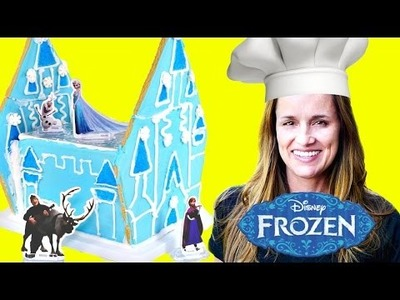 FROZEN GINGERBREAD HOUSE - - - Disney Frozen Sugar Cookie Castle Craft Kit