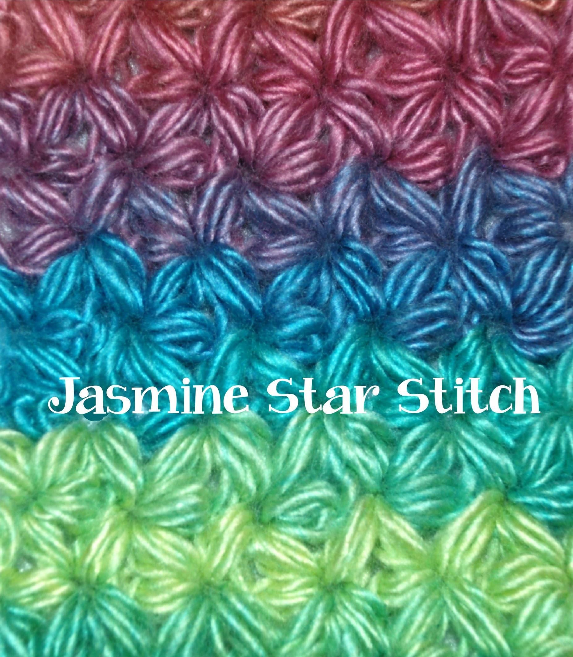 How to Crochet a Jasmine Star Stitch Part I