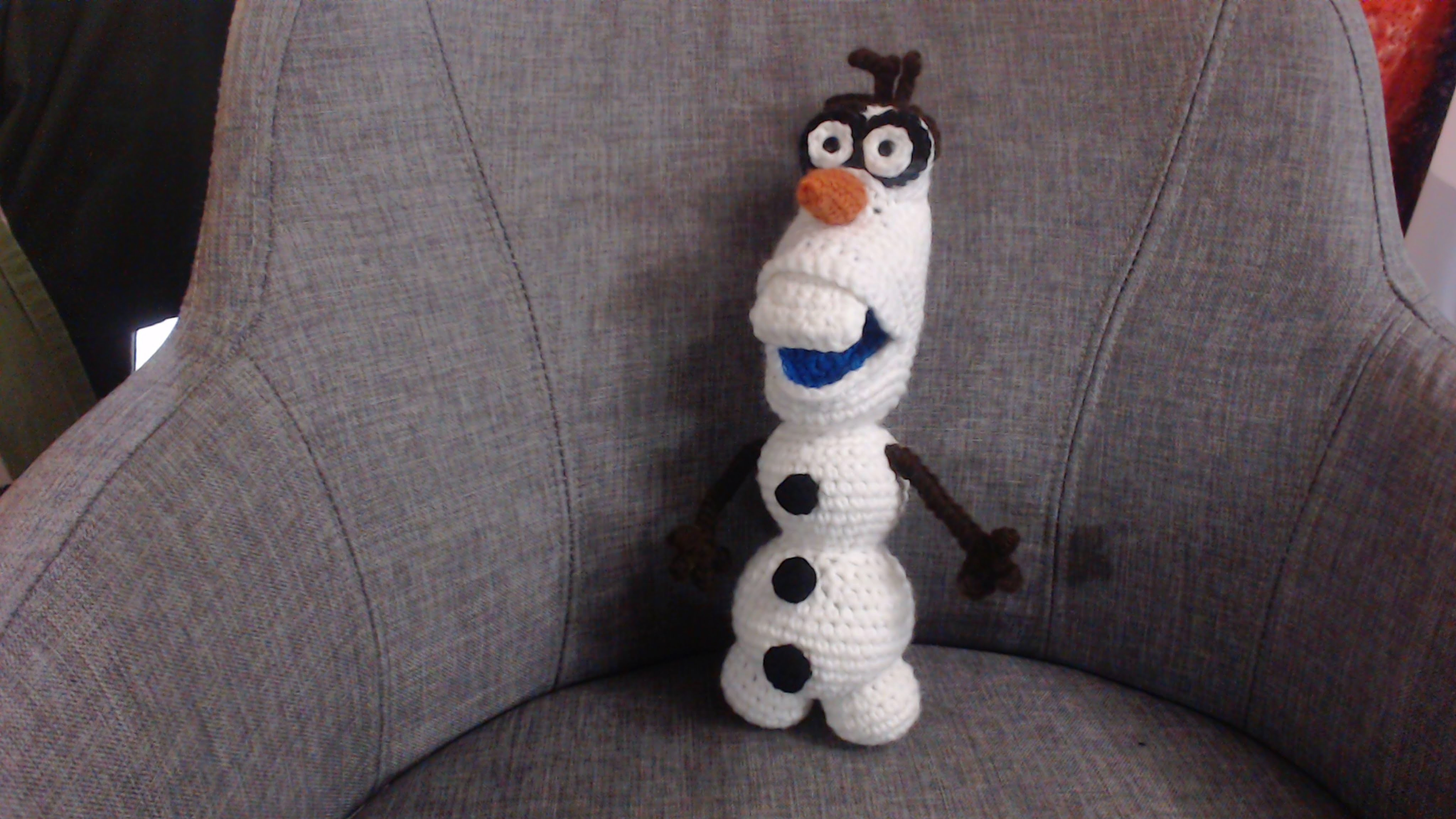 How to Crochet Olaf from Frozen Part 2
