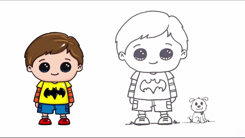 How to draw a Boy Easy | Tutorial Drawing a Boy